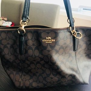 Large coach tote bag